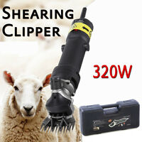 320W SHEEP / GOATS SHEARING CLIPPER SHEARS UK Plug With Case UK Plug