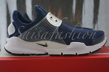 NIKE SOCK DART OBSIDIAN NAVY WHITE FRAGMENT 819686-400 MEN'S SIZE 12
