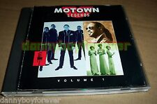 Motown Legends Collection Volume 1 & 2 CD Lot 22 Songs The Temptations Four Tops