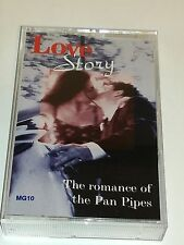 Love Story The Romance Of the Pan Pipes 1995 Cassette Tape by Duet Music
