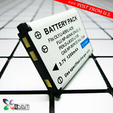 D-Li63 Li108 DLI63 DLI108 Battery for Pentax Optio RS1500 T30 V10 W30 L36 LS1000