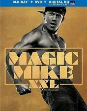 Magic Mike XXL (Blu-ray Disc, 2015, 2-Disc Set, Canadian)