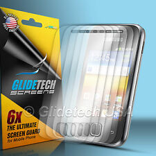 6x Clear Front Screen Protector Guard Film Shield Kit For Samsung Galaxy Y S5360