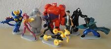 FIGURAS PVC BIG HERO 6 DISNEY FIGURE SET - 9 FIGURAS
