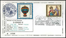 Austria 1983 Christmas FDC Balloon Post Cover #C15640