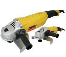 "HEAVY DUTY 110V 2380W 9"" 230MM ELECTRIC ANGLE GRINDER 6600 RPM 1 YEAR WARRANTY"