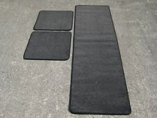 Caravan/Motorhome Interior Floor Carpet Mats - CHARCOAL Various Sizes Available