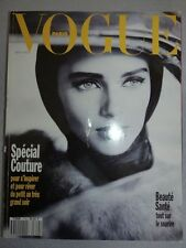 Revue mode fashion VOGUE PARIS #719 septembre 1991 Heather stewart whyte couv ko