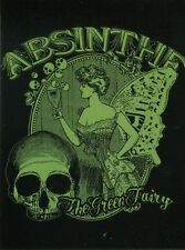 POST CARD OF ADVERTISEMENT OF ABSINTHE THE GREEN FAIRY HIGH ALCOHOLIC DRINK