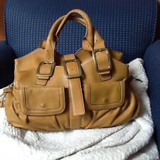 Cole Haan Village Soft E/W Triple Zip Bag   Leather Handbags!!MSRP $450  EUC!!!