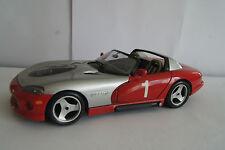 Maqueta de coche 1:18 Dodge Viper rt/10 Braccio & Götz * en OVP * SC Friburgo