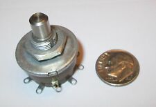 """GRAYHILL MINIATURE  ROTARY SWITCH 1"""" OD SP-9 POSITION P/N 24001-09N 1 AMP  NOS"""