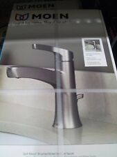 Moen Danika Spot Resist Brushed Nickel Single Handle Bathroom Faucet #L84733SRN