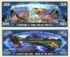 America the Beautiful Novelty Dollar with Semi Rigid Protector & Free shipping