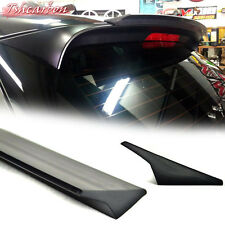 Unpainted FOR BMW X5 Series E70 Hatchback 5D Rear Trunk Lip Spoiler V Style 2013