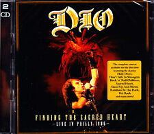 DIO finding the sacred heart live in philly 1986 2CD NEU OVP/Sealed