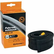 Continental SuperSonic 60mm Presta Valve Bicycle Tube, Black, 700 x 18-25cc