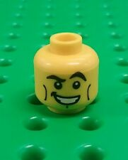 *NEW* Lego Spaceman Series 1 Head Excited Smile Face Minifigure x 1 piece