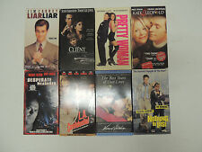 VHS 8 VIDEO TAPE CLASSIC MOVIES ,THE CLIENT,LIAR LIAR, L.A. CONFIDENTIAL, & MORE