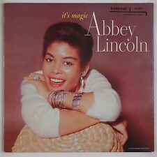 ABBEY LINCOLN: It's Magic USA RIVERSIDE Jazz Female Vocals LP Super VG+