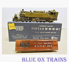 United PFM Brass HOn3 Uintah 2-6-6-2T - Full Back-Head Detail