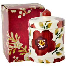 Emma Bridgewater Christmas Rose Small Lidded Candle NEW Boxed Beautiful!