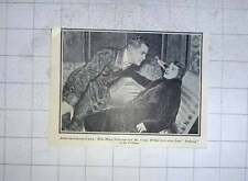 1928 Miss Mary Newcombe And Mr Crane Wilbur, Jealousy At The Fortune