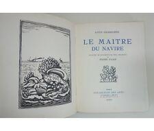 Louis Chadourne - Le Maître du navire. Illustré de bois originaux de FALKE 1925