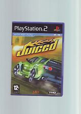 JUICED - HIGH SPEED STREET RACING SONY PS2 GAME - FAST POST- ORIGINAL & COMPLETE