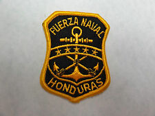 MILITARY PATCH HONDURAS NAVY NAVAL FUERZA NAVAL APPROX 3 INCHES