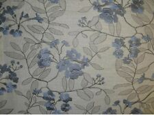 "57"" Wide Breez Embroidered Polyester Linen look Upholstery fabric by Yard"