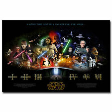 Star Wars Movie Art Wall Silk Poster 24x36 inch