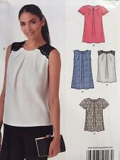 New Look Sewing Pattern 0447 6344 Ladies Misses Tops Size 8-20 UC