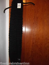 JCP - WOMENS - SCARF - COWL - BLACK - ONE SIZE   (AC-20-576)
