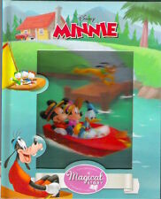 Walt DISNEY MINNIE MOUSE SPLASHING DATE MAGICAL STORY New 2015 hardbk Lenticular