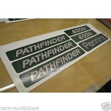PENNINE Pathfinder Folding Trailer Caravan Stickers Decals Graphics - SET OF