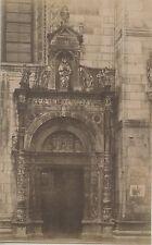 PHOTO PESENTI GENOVA ITALIA ITALIE / 1984 COMO PORTE DE LA CATHEDRALE DUARNO