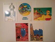 Margerin Cornillon Somon et Floc'h Collection Bonnes vacances 5 cartes postales
