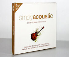 SIMPLY ACOUSTIC / ACUSTICA [2 CD'S OF CLASSIC MELLOW MOODS] 698458021427