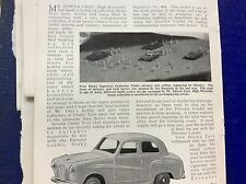 m9-4 ephemera 1958 article dinky toy news no 160 austin saloon