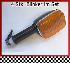 4 Stk. Blinker im Set für Suzuki GSX 1100 E - GS110X - Bj. 80-81