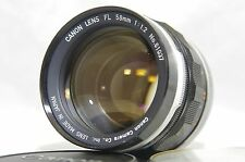 Canon FL 58mm f/1.2 MF Standard Prime Lens SN61037 for FD Mount from Japan