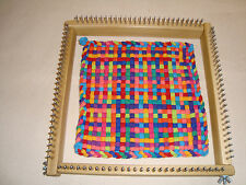 "10"" Jumbo Size Potholder Weaving Loom - pro -  loops - Cottage Looms"