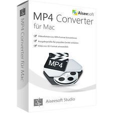 MP4 Converter MAC Aiseesoft dt.Vollversion -lebenslange Lizenz Download