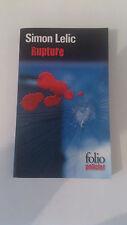 Simon Lelic - Rupture - Folio Policier
