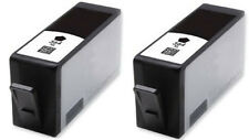2 364 XL Black INK CARTRIDGES For HP PHOTOSMART  B110  B210 C309 5510 5515 6510