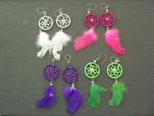 4 NEW PAIR OF EARRING DREAM CATCHER JEWERLY