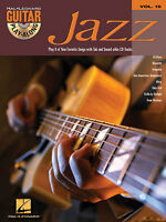 Guitar Play-Along Jazz Learn to Play TAB Music Book & CD
