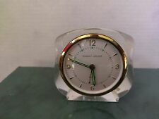 Gorgeous Vintage Phinney-Walker Lucite Wind-Up Alarm Clock -Lucite - Working!
