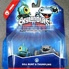 GILL RUNT & THUMPLING Skylanders Trap Team NEW mini Grunt & Thumpback sidekicks
